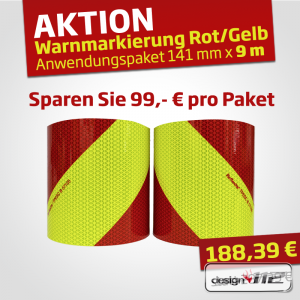 ***AKTION*** Warnmarkierung Oralite Daybright Chevron -...
