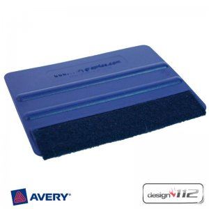 Avery lettering spreader knife with felt cover