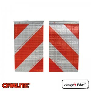 Reflexite Set - hazard marking for tail-lift / tailgate...